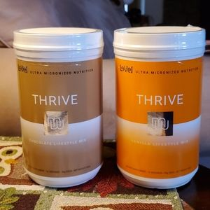 Le-Vel Thrive two canisters lifestyle mix